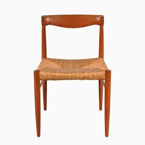 Esszimmerstühle von H.W. Klein für Bramin, 1950er, 4er Set