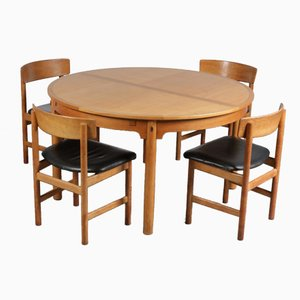 Scandinavian Dining Set by Børge Mogensen for Karl Andersson & Söner, 1950s