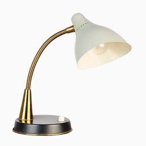 Lámpara de mesa ajustable, años 50