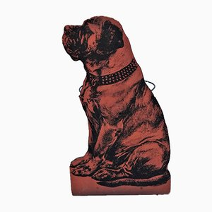 Vintage Umbrella Stand with Dog