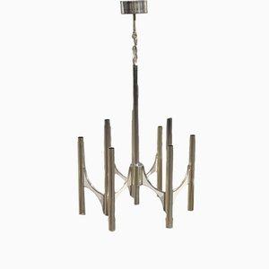 Lámpara de techo italiana de Gaetano Sciolari, años 60