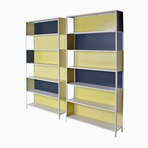 Bookcase Room Dividers by Friso Kramer for Asmeta, 1953, Set of 2