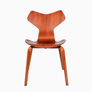 Chaise Modèle 3130 par Arne Jacobsen pour Fritz Hansen, 1964