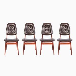 Chaises de Salon Mid-Century par Brødrene Sørheim, Norvège, 1960s, Set de 4