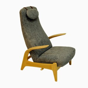 Norwegian Rock 'n Rest Lounge Chair by Rolf Rastad & Adolf Relling for Dux, 1960s