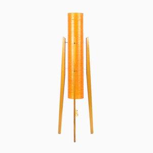 Lámpara de pie Rocket de Novoplast, años 60