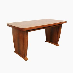 Tavolino da caffè in legno di noce, nni '60