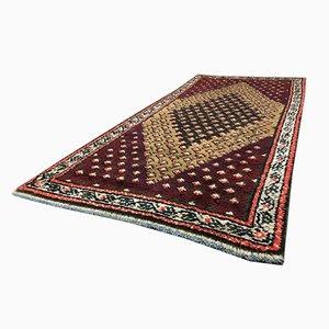 Vintage Moroccan Berber Beni Ouarain Shag Wool Rug
