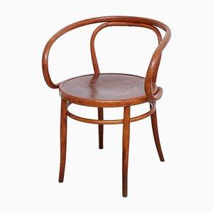 Butaca vintage de madera curvada de Horgen Glaris