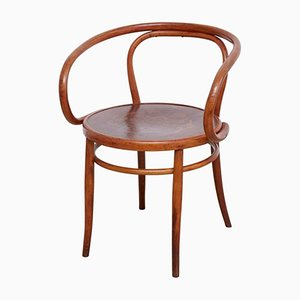 Vintage Bugholz Armlehnstuhl von Horgen Glaris