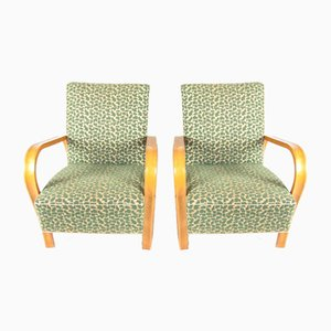 Lounge Chairs by Jindřich Halabala for UP Závody, 1940s, Set of 2