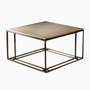 Silver Binate Coffee Table by Richy Almond for NOVOCASTRIAN