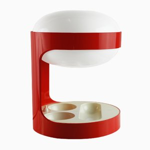 KD 29 Red Table Lamp by Joe Colombo for Kartell, 1967