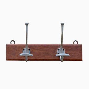 Vintage French Coat Rack, 1950s