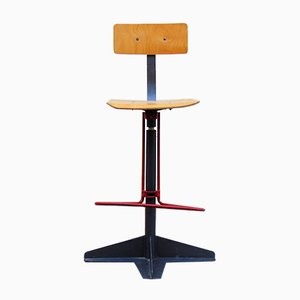 Vintage Architekten Hocker
