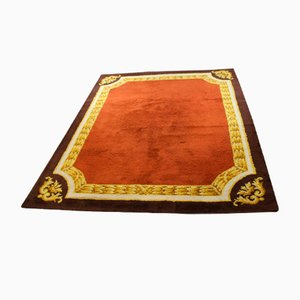 Spanischer Handgeknüpfter Vintage Teppich