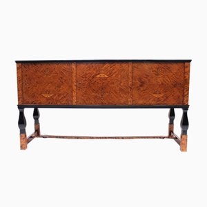 Swedish Model Haga Sideboard by Carl Malmsten for Nordiska Kompaniet, 1920s