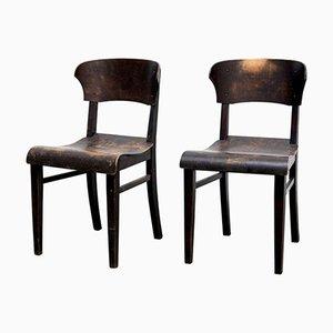 Chaises d'Appoint Antiques, Set de 2
