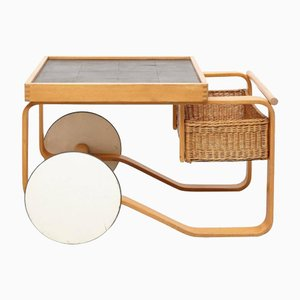 Chariot à Thé Modèle 900 par Alvar Aalto pour Artek
