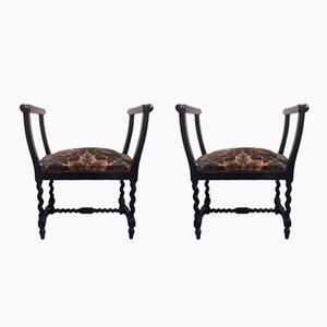 Beistellstühle, 1930er, 2er Set
