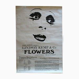 Póster de la obra Flowers, 1978