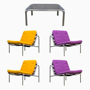 Osaka Lounge Set with Table by Martin Visser for 't Spectrum, 1970s