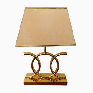 Lámpara de mesa francesa, años 70
