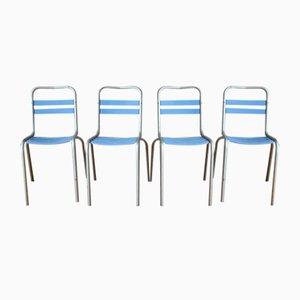 Vintage Stühle von Xavier Pauchard für Tolix, 4er Set