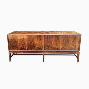 Rosewood Sideboard by Severin Hansen for Haslev, 1960s