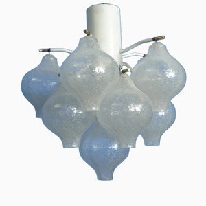 Tulipan Ceiling Lamp by J.T. Kalmar for Franken KG, 1960s