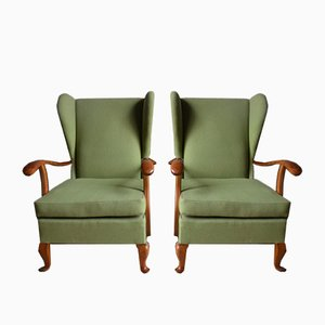 Mid-Century Italian Armchairs by Paolo Buffa, 1964, Set of 2