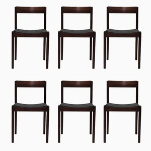 Dining Chairs by Giovanni Ausenda for Stilwood, 1963, Set of 6