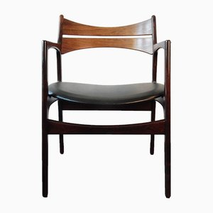 Mid-Century Armchair by Erik Buck for Chr. Christensens