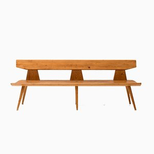 Vintage Bench by Jacob Kielland Brandt for I. Christiansen