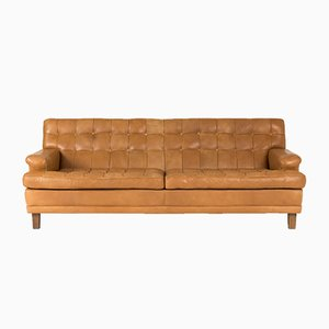 Leather Sofa by Arne Norell, 1960s