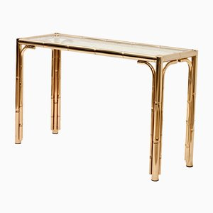 Consola con forma de bambú, años 70