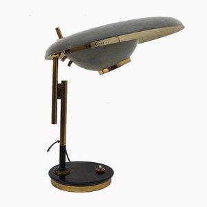 Lampe de Bureau Modèle 555 Ajustable par Oscar Torlasco pour Lumi Milano, 1950s