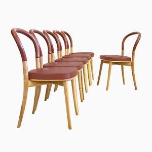 Chaises d'Appoint par Gunnar Asplund pour Cassina, 1980s, Set de 6
