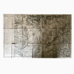 Napoleon Bonaparte Empire Battle Maps, 1812