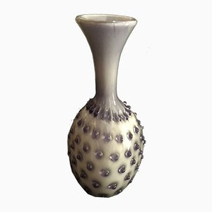 Italian Murano Art Glass Vase by Empoli, 1960s