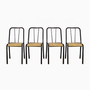 Chaises Vintage de Tubauto, Set de 4