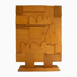 Mid-Century Wooden Screen