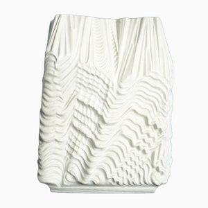 Vaso Mid-Century in porcellana di Martin Fryer per Rosenthal