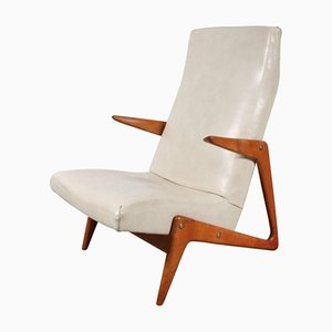 Belgian Lounge Chair from Belform, 1950s
