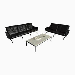 Set di divani di Poul Kjaerholm per E. Kold Christensen, 1958