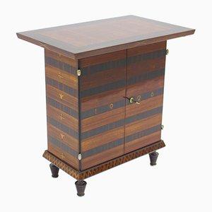 Mueble o mesa auxiliar Art Déco de palisandro, 1928