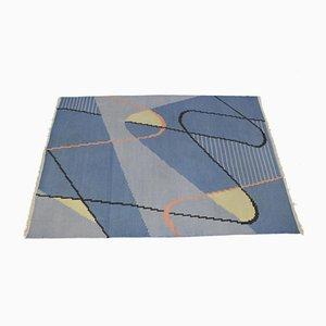 Tapis Kilim Mid-Century Moderniste Geometrique par Antonín Kybal