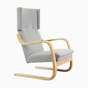 Wingback Lounge Chair by Alvar Aalto, 1950s
