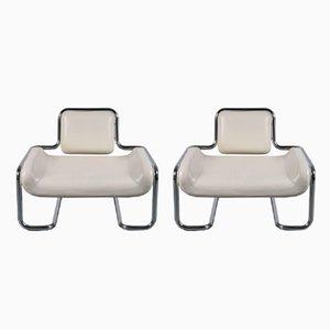Limande Stühle von Kwok Hoi Chan für Steiner, 1971, 2er Set