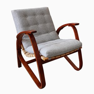Armchair by Jan Vanek for Spojene UP Zavody, 1930s​